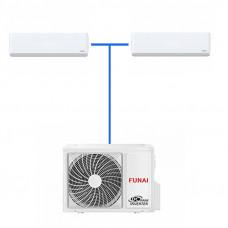 Мульти сплит система FUNAI 2 Х RAMI-SM25HP.D04/S / RAMI-2OR50HP.D05/U