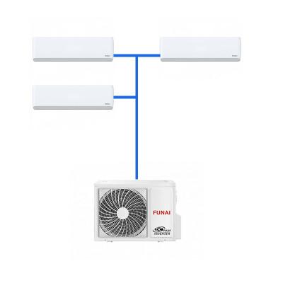 Мульти сплит система Funai 3 х RAMI-SM25HP.D04/S / RAMI-3OR70HP.D05/U