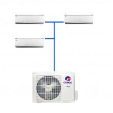 Мульти сплит система Gree GWHD(21)NK3KO(LCLH) / GWH(07)QB-K3DNC2G/I (3 шт.)