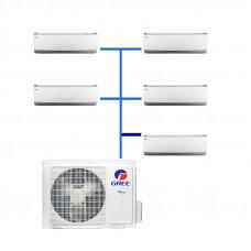 Мульти сплит система Gree GWHD(36)NK3BO / GWH(07)QB-K3DNC2G/I (5 шт.)