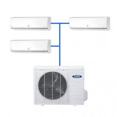 Мульти сплит система ELECTROLUX EACO/I-24 FMI-3/EACS/I-09HM FMI/N3 (3 шт.)
