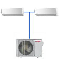 Мульти сплит система Pioneer KRMS12A (2 шт.) / 2MSHD21A