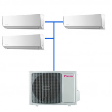 Мульти сплит система Pioneer KRMS12A (3 шт.) / 3MSHD24A