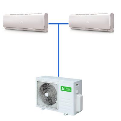 Мульти сплит система Chigo C2OU-18HVR1/CSG-09HVR1(J150)*2шт