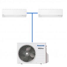 Мульти сплит система Panasonic CU-2E15PBD/CS-E7RKDW*2шт