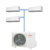 Мульти сплит система Fujitsu ASYG07LMCE-R (3 шт.) / AOYG18LAT3