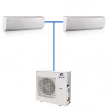 Мульти сплит система Gree GWHD(14)NK3DO(LCLH) / GWH(07)QB-K3DNC2G/I 2 шт.