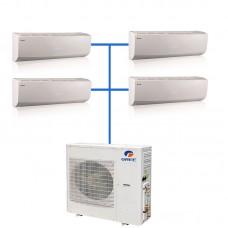 Мульти сплит система Gree GWHD(28)NK3KO(LCLH) / GWH(07)QB-K3DNC2G/I 4 шт.