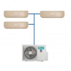 Мульти сплит система Hisense AMW3-24U4SZD/AMS-09UR4SVETG67(C)