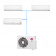 Мульти сплит система LG PM05SP.NSJR0 (3 шт.) / MU3M19.UE4R0