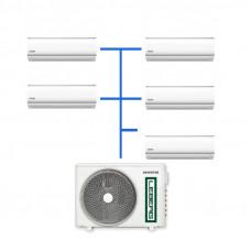Мульти сплит система Leberg LSI-M07WB (5 шт.) / LUI-5M42BB