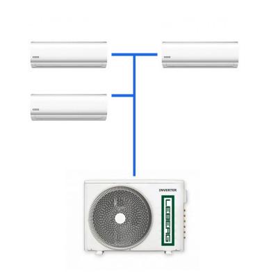 Мульти сплит система Leberg LSI-M07WB (3 шт.) / LUI-3M21BB