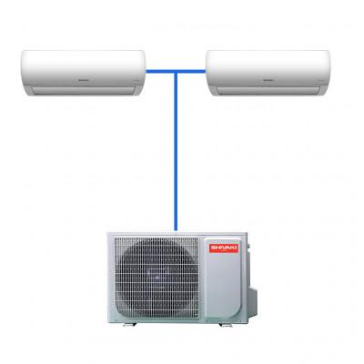 Мульти сплит система Shivaki SRH-PM182DC / SSH-PM072DC (2 шт)