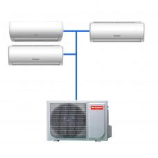 Мульти сплит система Shivaki SRH-PM242DC / SSH-PM092DC (3 шт)