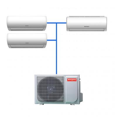 Мульти сплит система Shivaki SRH-PM242DC / SSH-PM072DC / SSH-PM092DC / SSH-PM122DC