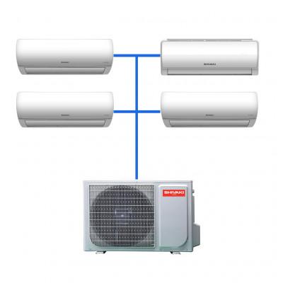 Мульти сплит система Shivaki SRH-PM362DC / SSH-PM072DC (1 шт) / SSH-PM092DC (2 шт) / SSH-PM122DC