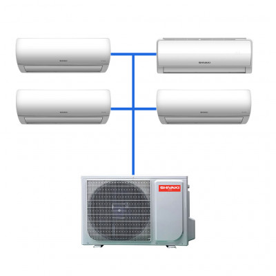 Мульти сплит система Shivaki SRH-PM362DC / SSH-PM072DC (2 шт) / SSH-PM092DC / SSH-PM122DC