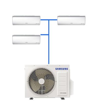 Мульти сплит система Samsung AJ025RBTDEH/AF (3 шт.) / AJ070FCJ4EH/EU