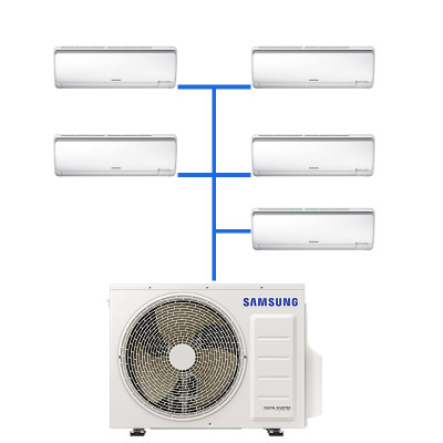 Мульти сплит система Samsung AJ020RBTDEH/AF (5 шт.) / AJ100FCJ5EH/EU