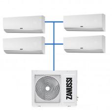 Мульти сплит система Zanussi ZACO/I-28 H4 FMI/N1 / ZACS/I-07 HIN FMI/N1