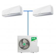 Мульти сплит система Balu B3OI-FM/out-24HN1/EU / BCI-FM-12HN1/EU (compact) (2 шт)