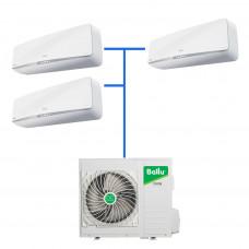 Мульти сплит система Balu B3OI-FM/out-24HN1/EU / BSEI-FM/in-07HN1/EU (3 шт)