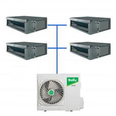 Мульти сплит система Ballu B4OI-FM/out-36HN1/EU / BDI-FM/in-09HN1/EU (4 шт)