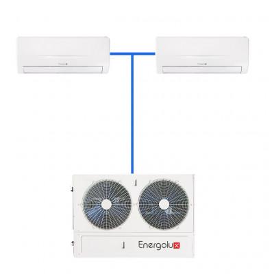Мульти сплит система Energolux SAM36M2-AI/4 / SAS18M2-AI (2 шт)