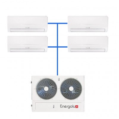 Мульти сплит система Energolux SAM36M2-AI/4 / SAS09M2-AI (4 шт)