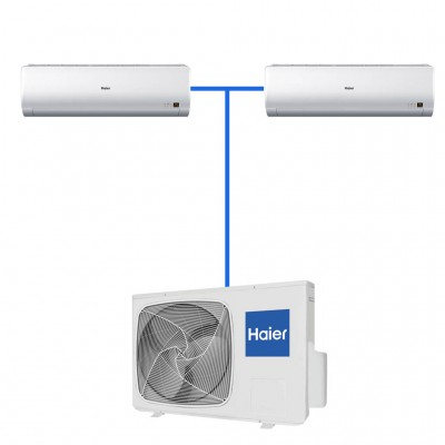 Мульти сплит система Haier 2U18FS2ERA/AS09BS4HRA
